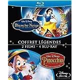 Blanche Neige et les sept nains + Pinocchio [Blu-ray]par David Hand