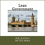 Lean Government | Ade Asefeso MCIPS MBA