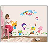 Cute Animals Wall Sticker For Home Decoration