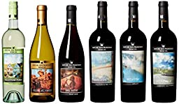 Rockin\' Tour Pack, Special Edition Includes a Signed Bottle by Pat Monahan Mixed Pack, 6 x 750 mL Wine
