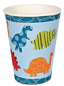 Meri Meri Roarrrrrr Dinosaur Party Cups, 12-Pack from Meri Meri