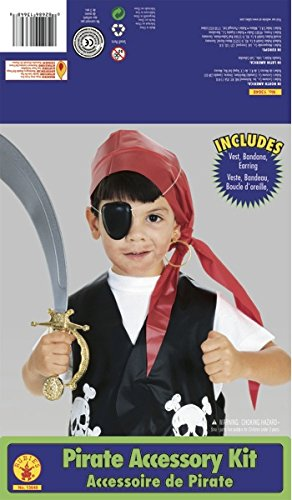 Rubie's Costume Child's Pirate Dress-Up Kit