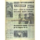 EQUIPE (L') [No 7896] du 07/09/1971 - OSLO - LECH OU BLANCHET - BOULOGNE HESITE ENCORE - CHIESA CHEF DE FILE DE...