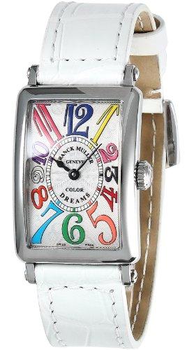 [フランクミュラー]FRANCK MULLER 腕時計 ロングアイランド ホワイト文字盤 クロコ革ベルト 902 QZ COLDRM SLV WHT BKH レディース 【並行輸入品】