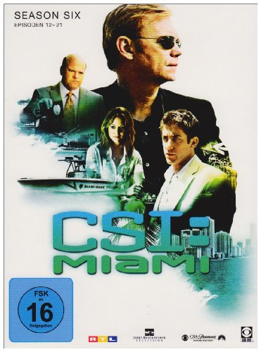 CSI: Miami - Season 6.2 [3 DVDs]