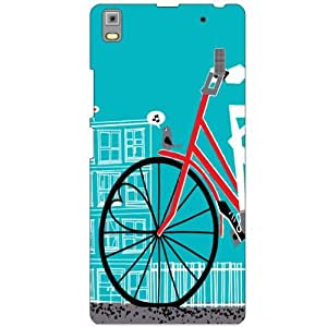 Lenovo A7000 PA030023IN Back cover - Cycle Ride Designer cases