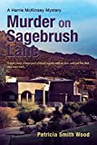 img - for Murder on Sagebrush Lane book / textbook / text book