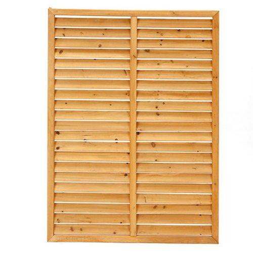 RoomClip商品情報 - 【カインズ】木製ルーバーラティスフェンス