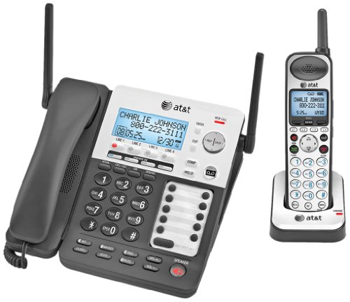 AT&T SynJ SB67138 4-Line Corded/Cordless Small Business System Phone