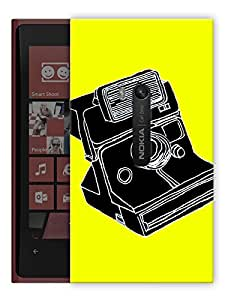 """Humor Gang Camera Abstract Quirky Art Printed Designer Mobile Back Cover For """"Nokia Lumia 920"""" (3D, Matte, Premium Quality Snap On Case)"""