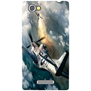 Sony Xperia M Back Cover - Wheels Of Craft Designer Cases