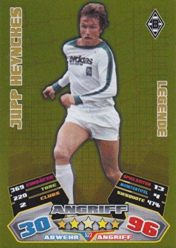Topps Match Attax Legenden Fussballkarten, Sammelkarten, Trading Cards (522 JUPP HEYNCKES - Borussia Mönchengladbach - Legende)