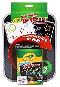 Crayola Dual-Sided Dry Erase Board (4-Pack)