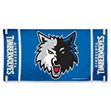 NBA Minnesota Timberwolves Design Beach Towel - Slate Blue at Amazon.com