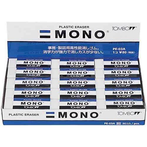 トンボ鉛筆 モノ消しゴム 業務用パック PE-03 30個入