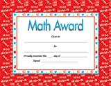 Math Award Certificate (0742403351) by School Specialty Publishing