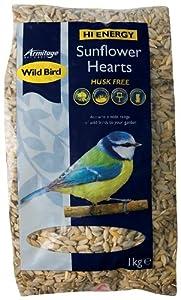Wild Bird Sunflower Hearts