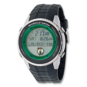 Mens NBA Boston Celtics Schedule Watch by Jewelry Adviser Nba Watches