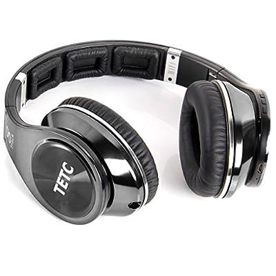 Zeimax Bluetooth4.0 Headphones Supports NFC Bluetooth, Revolutionary 8 Tracks 8 Driver Units Deep bass effect wireless Headphones On-Ear Headphones