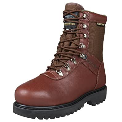 "Wolverine Men's Big Horn Steel 8"" Sport Boot,Brown,7 W US"