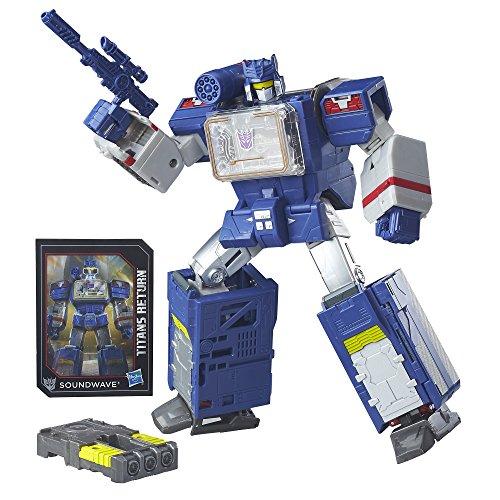 Transformers Generations Titans Soundwave Soundblaster