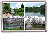 St james park london Gift Souvenir Fridge Magnet