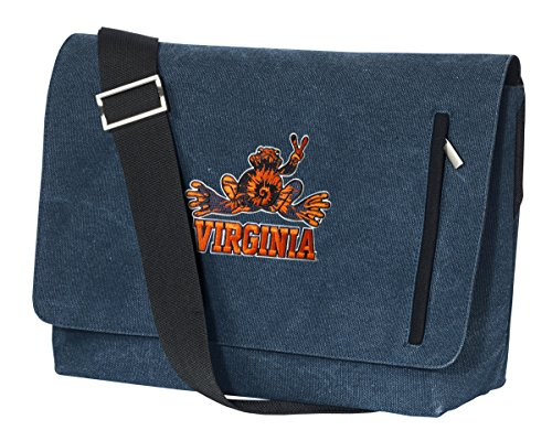 stylish-uva-peace-frog-messenger-bag-university-of-virginia-peace-frogs-laptop-bag
