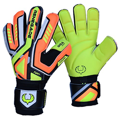 R- GK Fury Volt Adult   Youth Goalie Gloves Flat Gecko Cut (Size 10 ... 9c35169ae0