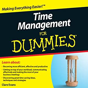 Time Management For Dummies Audiobook | [Clare Evans]