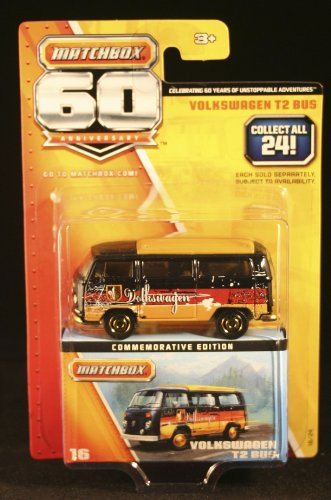 Matchbox 60 Anniversary #16 Volkswagen T2 Bus - 1