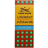 Tiger Balm Liniment Liquid Relief from Muscle and Joint Pain Net 28 ml(1Fl Oz) (1Pack:Net)