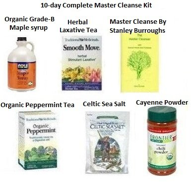 Best Laxatives For Weight Loss The Complete Master Cleanse Kit With