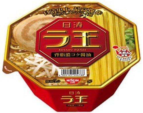 日清 ラ王 背脂濃コク醤油 114g×12食
