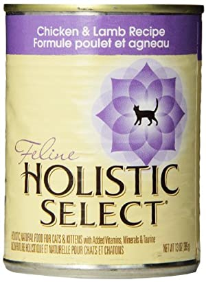 Holistic Select Canned Cat Food, Chicken and Lamb Recipe