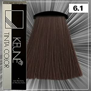 Amazoncom  Keune Tinta Color  Silk Protein Hair Color 61 Dark ASH Blonde