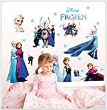 Make it Magical Crafts & Gifts® Disney Frozen Elsa Anna Large Wall Stickers Decal (95cm x 70cm)