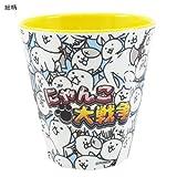 にゃんこ大戦争 メラミンカップアプリキャラクターグッズ(食器/コップ)通販/【総柄 】