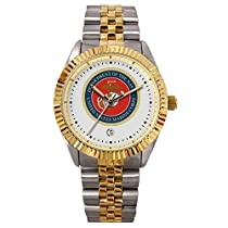 US Marines Suntime Mens Executive Watch - NCAA College Athletics