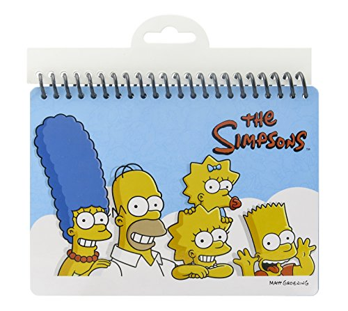 Fox The Simpsons Blank Guest Autograph-B Book
