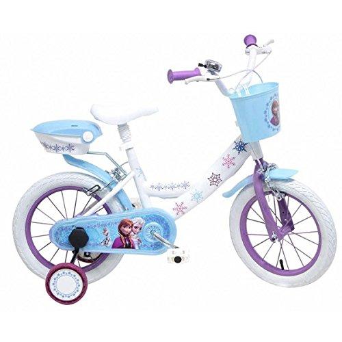 """Bicicletta ufficiale 14"""" Disney Frozen"""