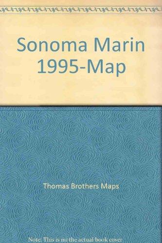 Sonoma Marin 1995-Map