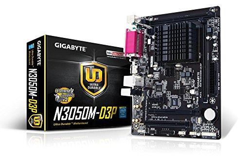 Gigabyte GA-N3050M-D3P Motherboard Built-in Intel Celeron N3050 (1.6 GHz) Dual-Core Processor