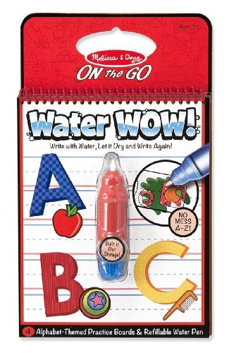 Melissa & Doug Water Wow Activity Book - Alphabet - 1