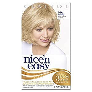 Nice'n Easy Permanent Hair Colour - No. 10A Natural Ultra Light Ash Blonde (Former shade 88)