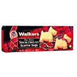 Walkers Scottie Dog Shortbread 110 g (Pack of 12)