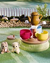 Big Sale Best Cheap Deals Calico Critters Baby Playground Tea Cup Ride