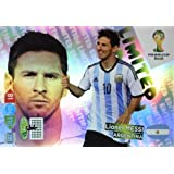 FIFA World Cup 2014 Brazil Adrenalyn XL Lionel Messi Limited Edition