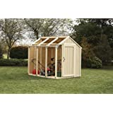 2x4basics Shed Kit, Peak Style Roof Review