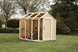 Hopkins 2x4basics 90192 Shed Kit, Peak Style Roof