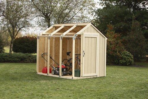 2x4basics  Shed Kit, Peak Style Roof